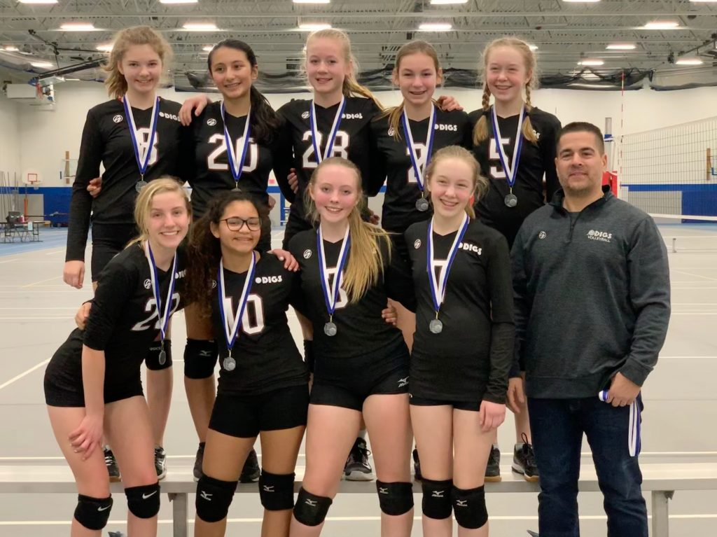 DIGS 14s 2nd Place Silver Division
